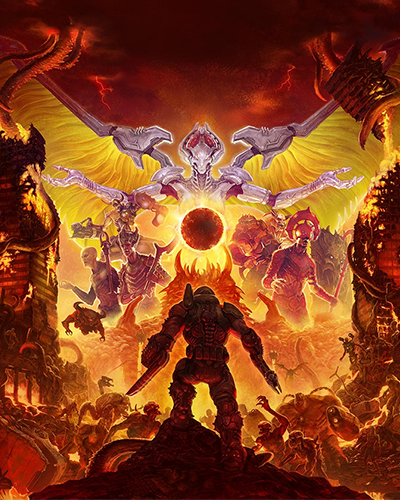 ✅ DOOM Eternal Standard Edition 🔥 XBOX ONE Key 🔑