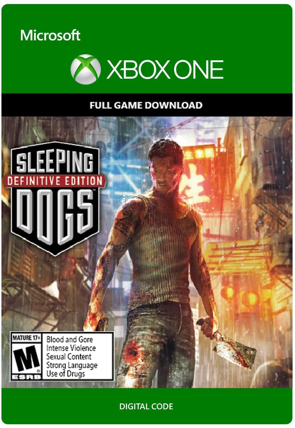 ✅ Sleeping Dogs Definitive Edition XBOX ONE ключ 🔑