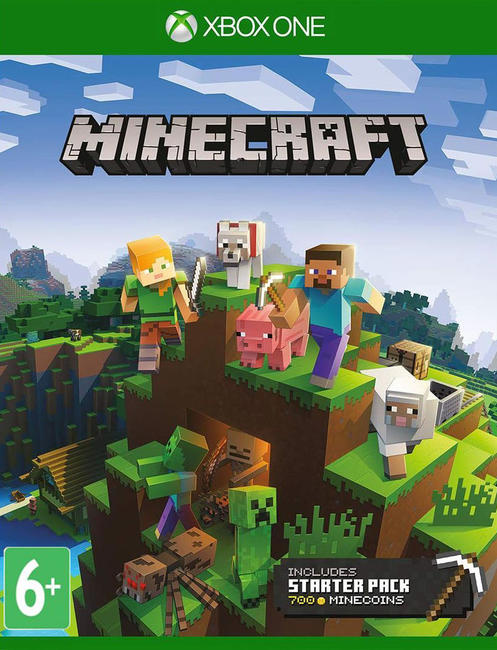 ✅ Minecraft Starter Collection XBOX ONE Digital Key 🔑