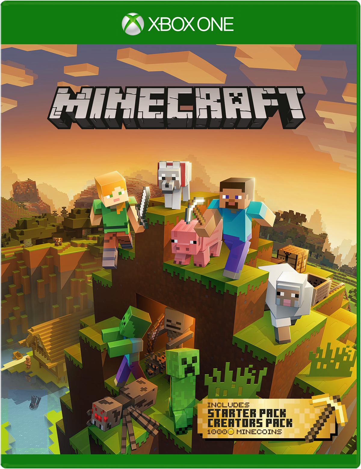 ✅ Minecraft Master Collection XBOX ONE Digital Key 🔑