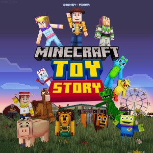 ✅ Minecraft Toy Story Mash-up DLC XBOX ONE Key 🔑