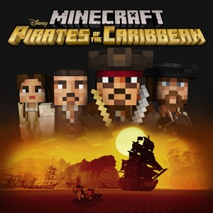 ✅ Minecraft Pirates of the Caribbean Mashup XBOX ONE 🔑
