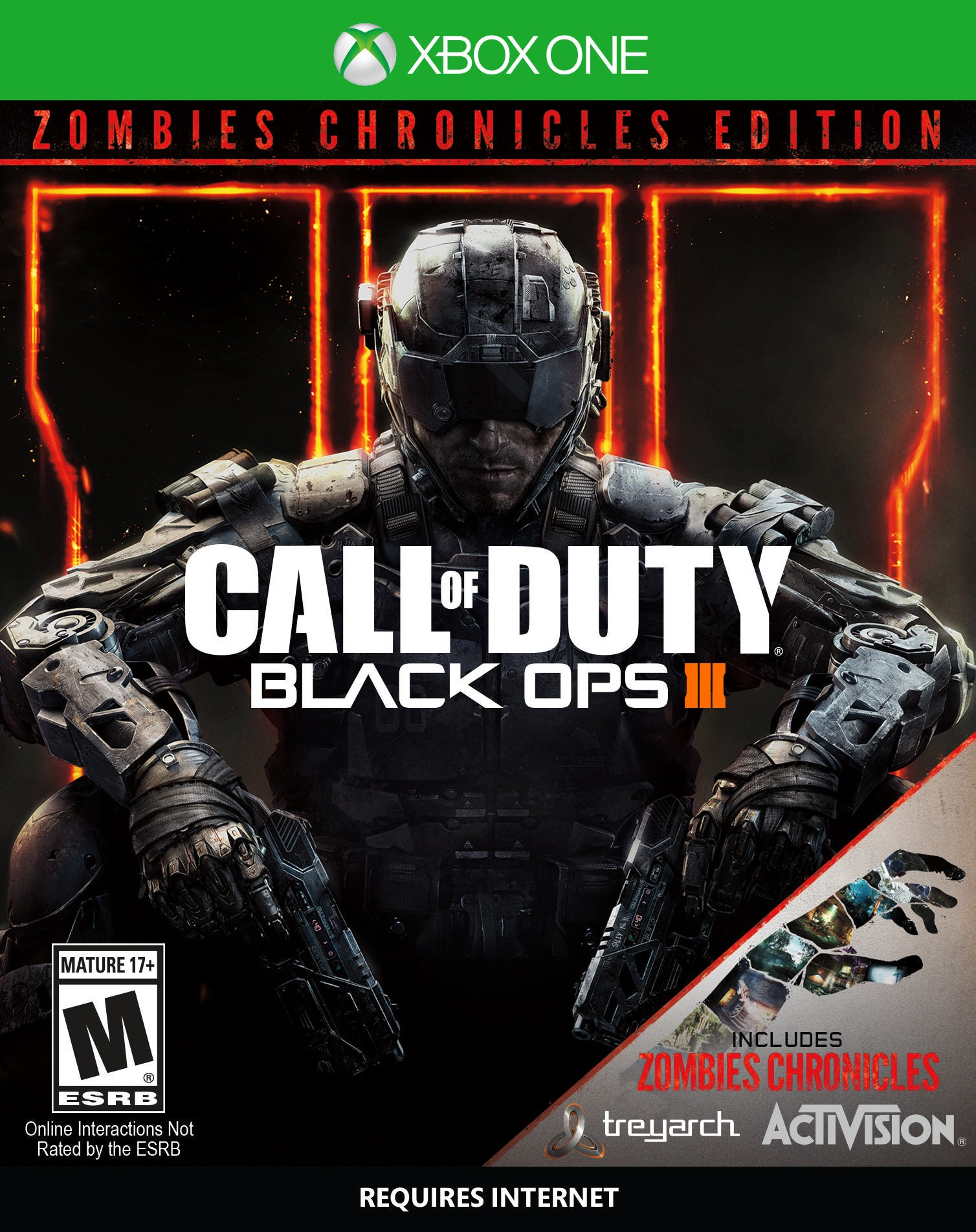 ✅ Call of Duty Black Ops III: - Zombies Chronicles XBOX