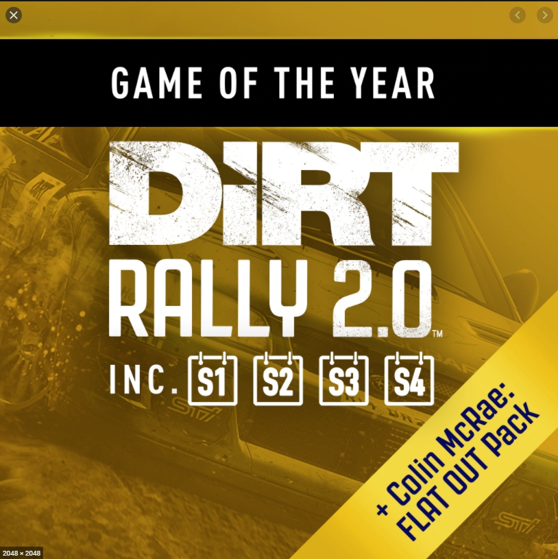✅ DiRT Rally 2.0 - Game of the Year Edition XBOX ONE 🔑