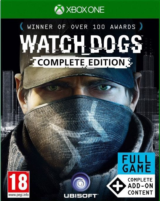 ✅ WATCH_DOGS COMPLETE EDITION XBOX ONE Digital Key 🔑
