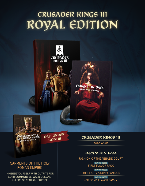 Crusader Kings III Royal Edition (Steam RU) 🔥