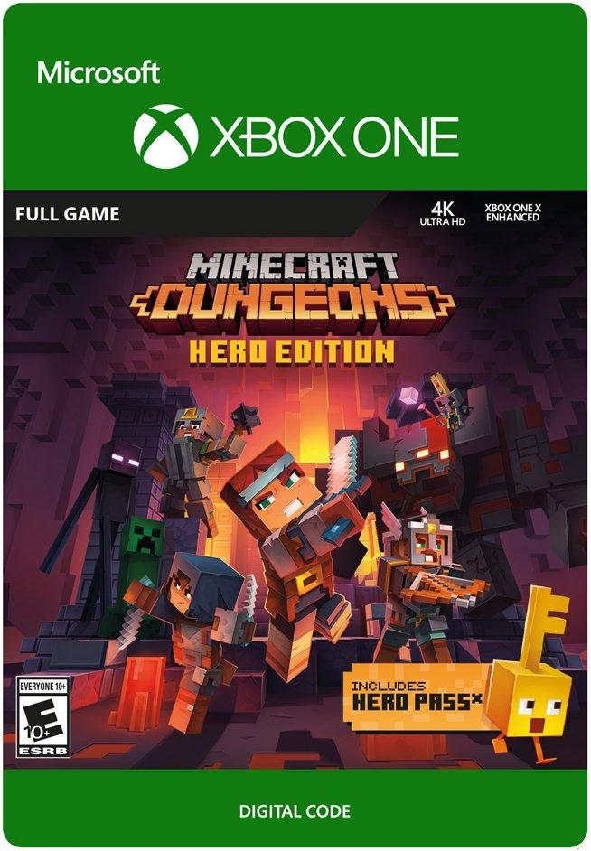 ✅ Minecraft Dungeons Hero Edition XBOX ONE Key 🔑
