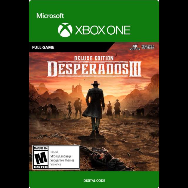 ✅ Desperados III Deluxe XBOX ONE Ключ / Цифровой код 🔑