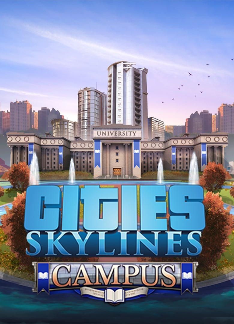 ✅ Cities: Skylines - Campus DLC XBOX ONE Key 🔑