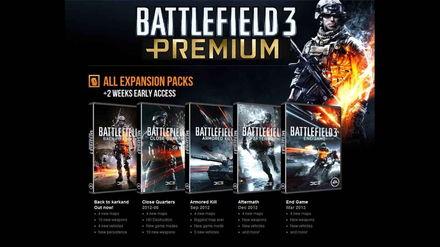 Battlefield 3 Premium (RU / EU) + AFTERMATH+ПОДАРОК + %