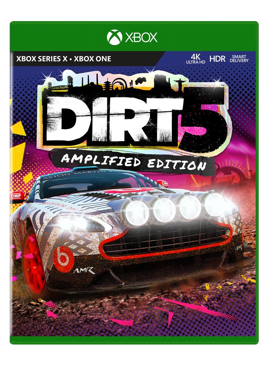 ✅ DIRT 5 Amplified Edition XBOX ONE|X|S Ключ 🔑