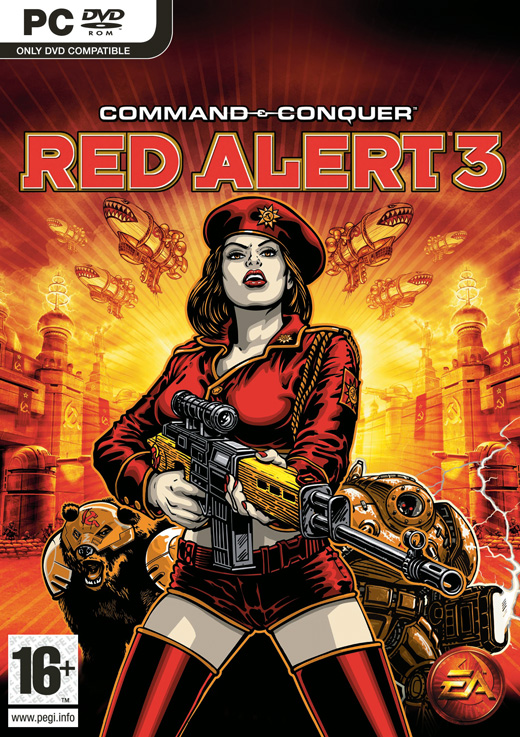 Command & Conquer: Red Alert 3 (Steam Gift RU + CIS)