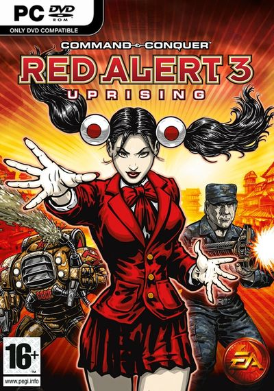 Command & Conquer: Red Alert 3-Uprising(Steam/Reg Free)