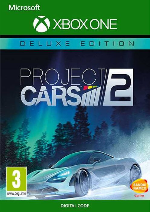 ✅ Project CARS 2 Deluxe Edition XBOX ONE|X|S Ключ 🔑