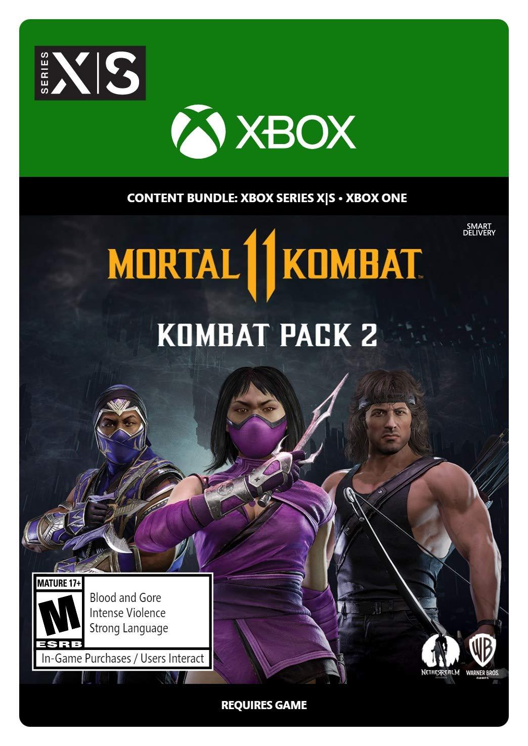 ✅ Mortal Kombat 11 - Боевой набор 2 XBOX ONE|X|S Ключ🔑