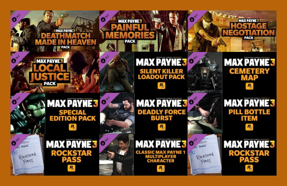 Max Payne 3 Rockstar Pass (Steam Gift ROW /Region Free)