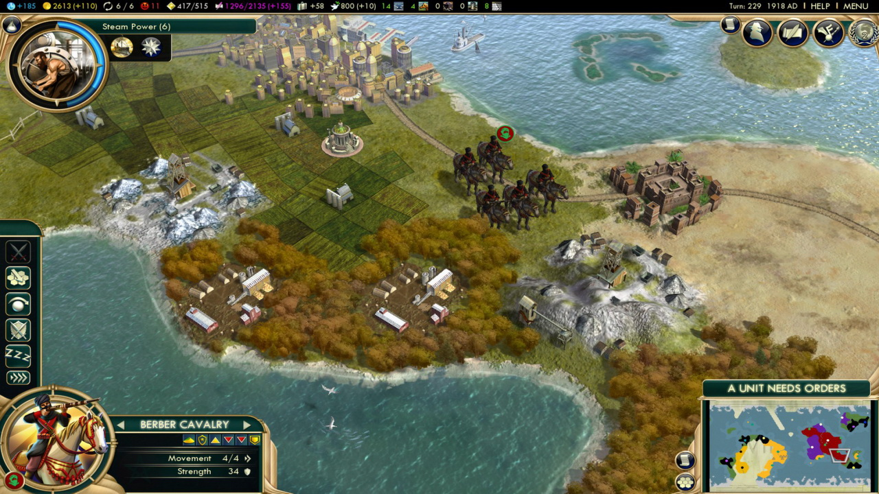 Civilization V: Brave New World (Steam Gift / ROW)
