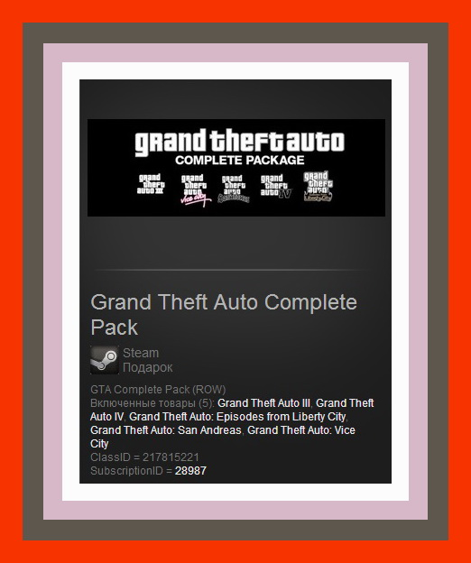 Grand Theft Auto Collection (Steam Gift/Region Free)