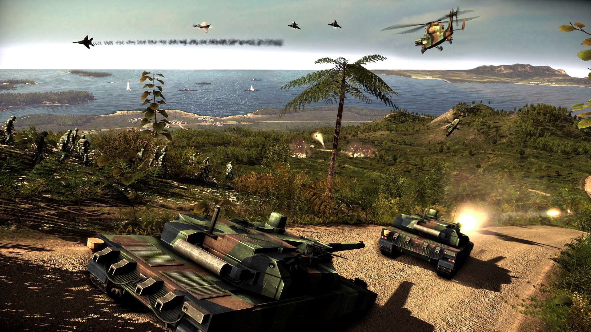 Wargame: Red Dragon (Steam key 1C) + DISCOUNTS