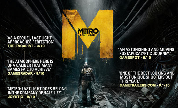 Metro: Last Light Complete (Steam Gift / Region Free)