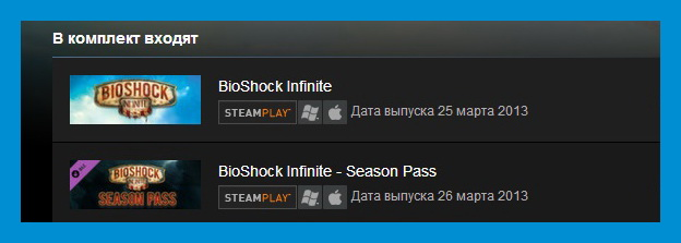 Bioshock Infinite + Season Pass Bundle (Steam Gift ROW)