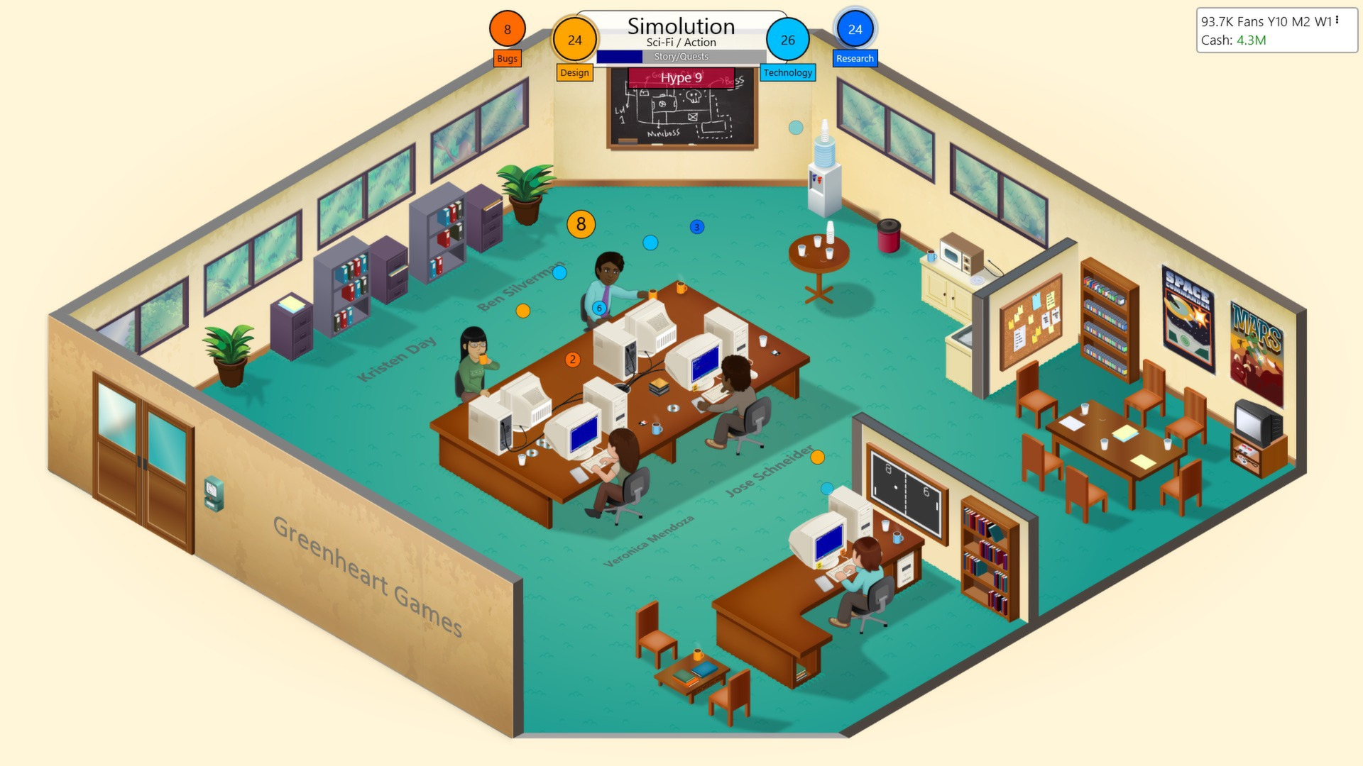 Game Dev Tycoon (Steam Gift ROW / Region Free)