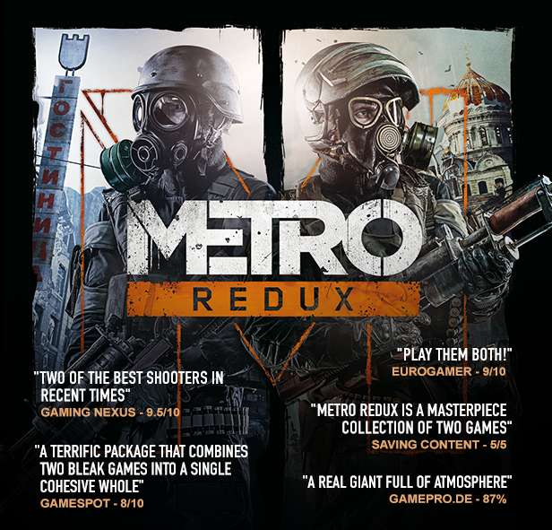 Metro: Last Light Redux (Steam Gift ROW / Region Free)