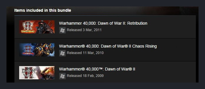 Warhammer 40,000: Dawn of War II Master Collec STEAM RU