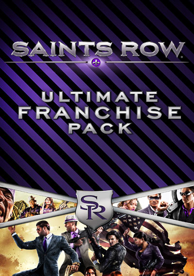 Saints Row Ultimate Franchise Pack (Steam Gift ROW)