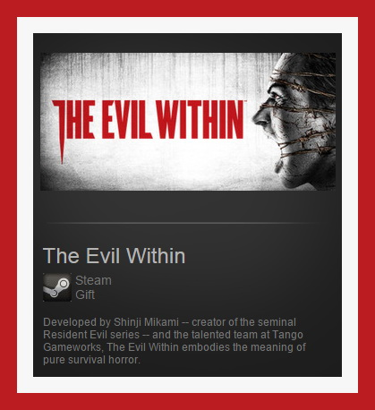 The Evil Within (Steam Gift ROW / Region Free)