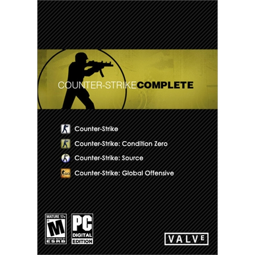 Counter-Strike Complete (Steam Gift ROW)