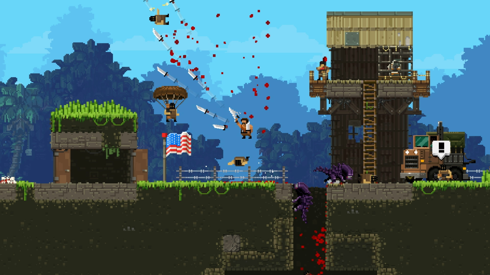 Broforce (Steam Gift ROW / Region Free)