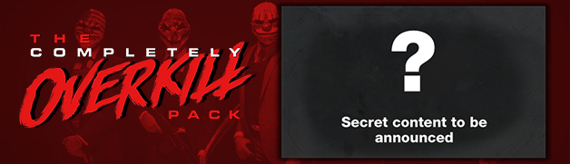 PAYDAY 2 The Completely OVERKILL Pack Steam ROW 3x DLC