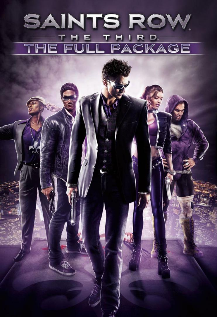 Saints Row: The Third-The Full Package (GOG KEY ROW)