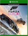 Forza Horizon 3 XBOX ONE / PC Win10