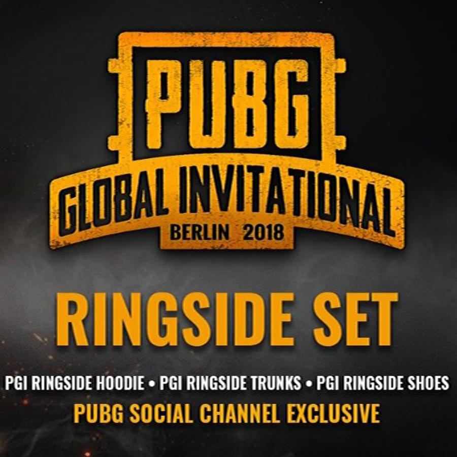 PGI RINGSIDE SET PUBG [Region Free] LIMITED BOX
