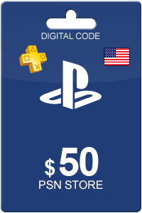 PLAYSTATION NETWORK (PSN) - 50 USD (USA only)