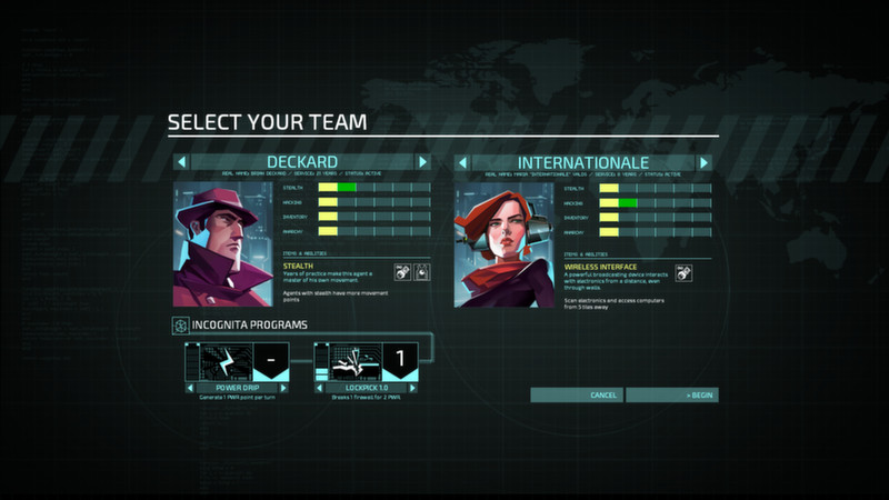 Invisible, Inc. (Steam gift, region free)