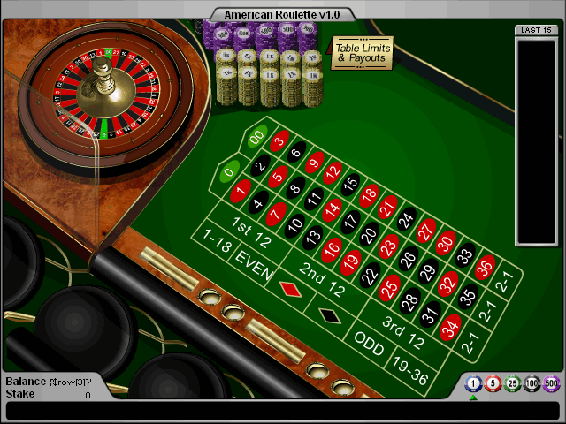 American Roulette game + flash source