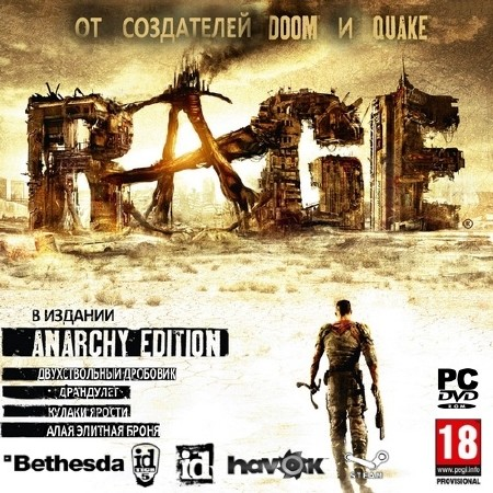 RAGE Anarchy Edition + DLC