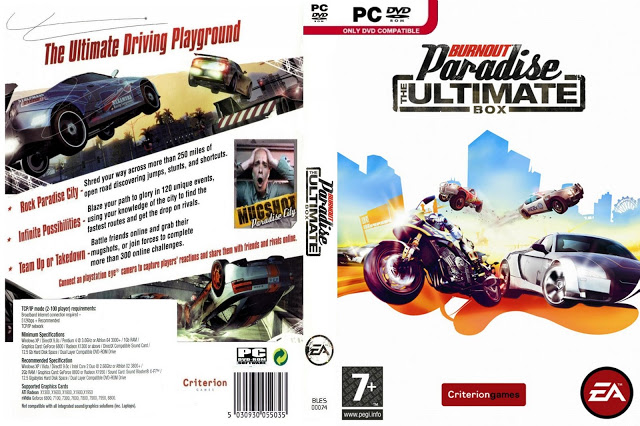 Burnout Paradise: The Ultimate Box - Origin + ПОДАРОК