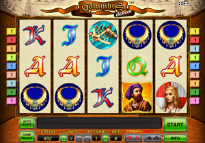 Deluxe Columbus  - game for casino