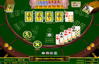 Caribian poker- 3D game for casino