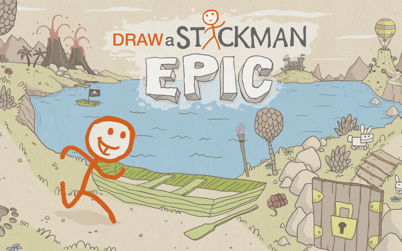 Draw a Stickman: EPIC Steam Gift ROW