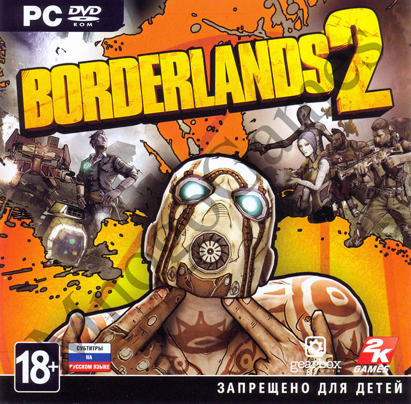Borderlands 2 (Steam Key)  RU/CIS