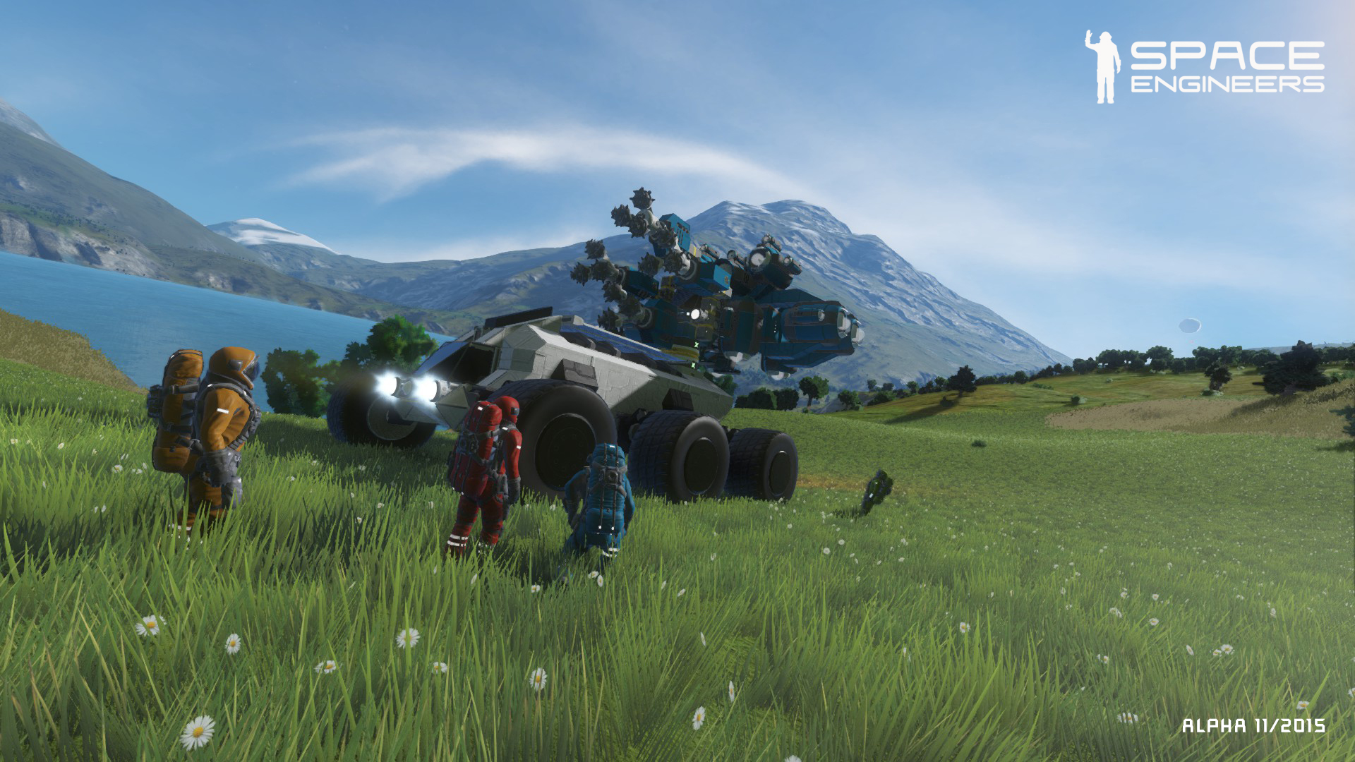 SPACE ENGINEERS STEAM Key  REGION FREE