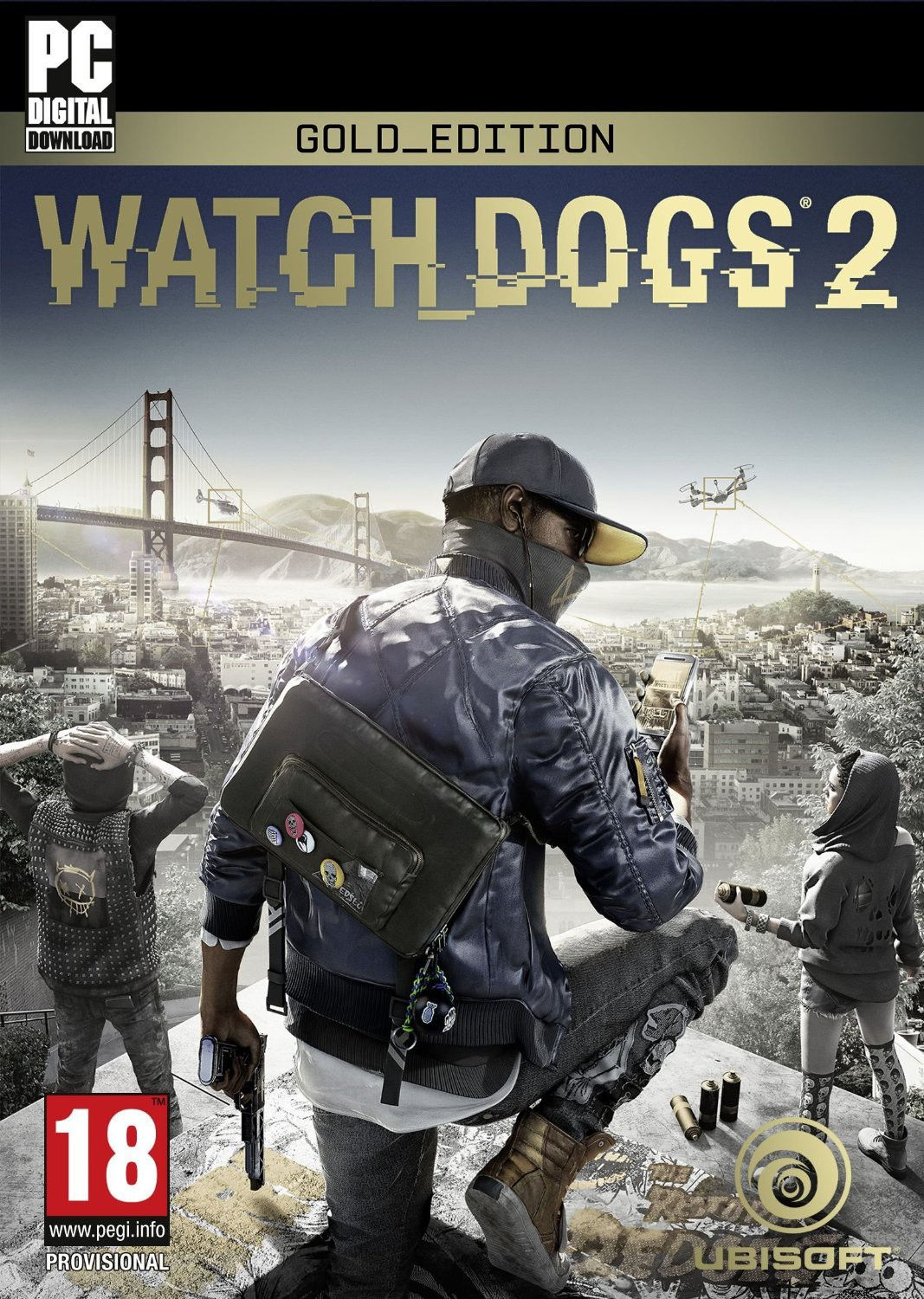 Watch Dogs 2: Gold Ed. + DLC (Uplay KEY)