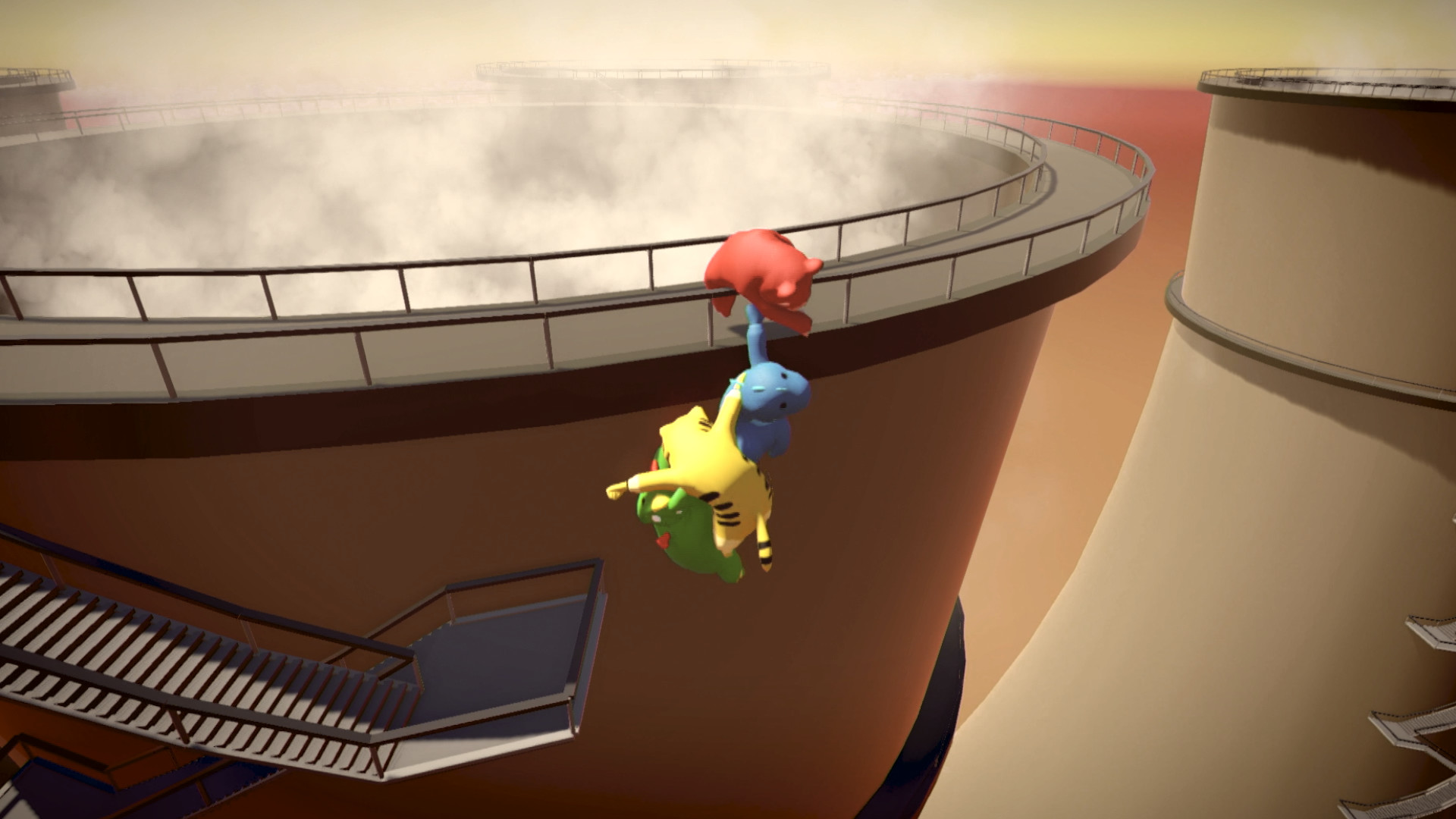 Gang Beasts (Steam Gift) + БОНУС RU/CIS