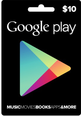 GOOGLE PLAY GIFT CARD $ 10 (USA) + DISCOUNTS