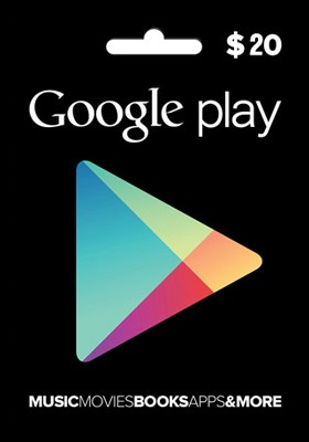 GOOGLE PLAY GIFT CARD $ 20 (USA) + DISCOUNTS